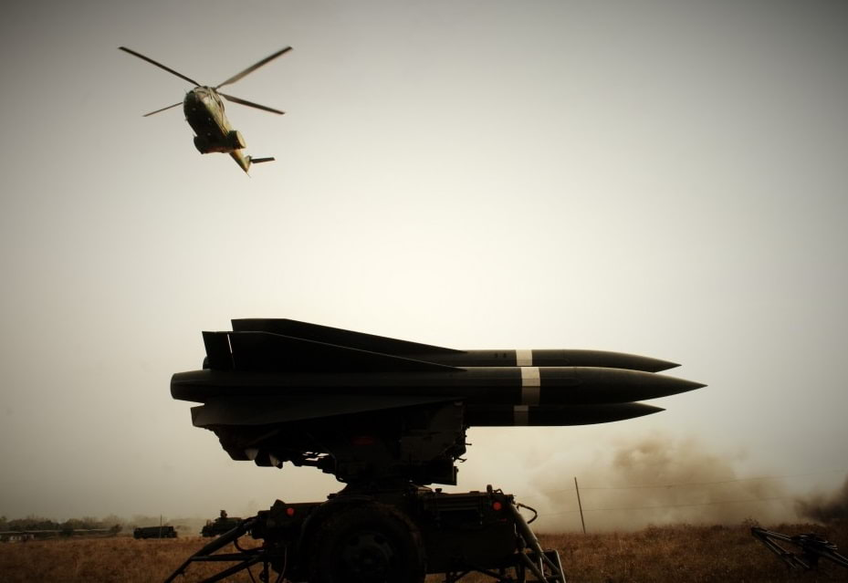 Sistem de rachete sol-aer cu bătaie medie HAWK XXI