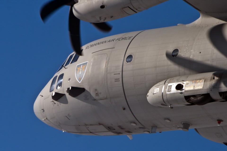 Avion de transport scurt/mediu CURIER C27J SPARTAN